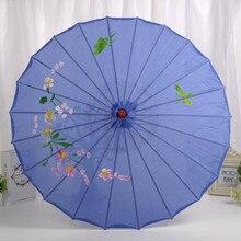 Деревянный зонтик невесты художественный реквизит украшение цветка свадебное платье фотография зонтик HYD88