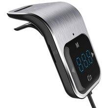 12V Naar 24V Voor Bluetooth Auto-accessoires Usb Fast Charger Fm-zender Bedrade Adapter MP3 Speler Ondersteuning Card muziek Afspelen