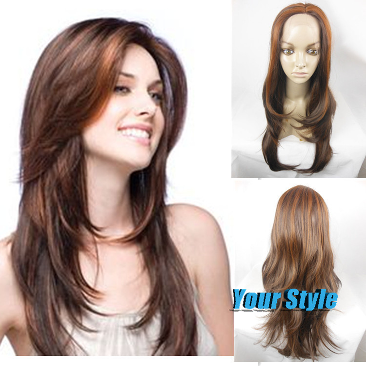 Good Synthetic Yaki Lace Front Wigs For Sale Long Body