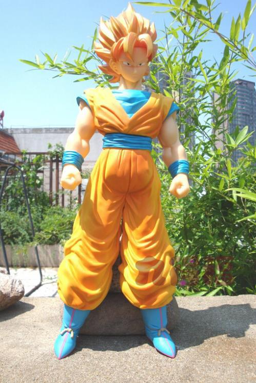 36CM Anime Cartoon Dragon Ball Z Super Saiyan 4 Son Goku PVC Action Figure Collection Model Toy GB082 free shipping 5pcs lot q0465r to220 6 offen use laptop p 100% new original