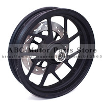 2.50 12 inch Front Rims 12mm Axle Wheel Hole Including 220mm Outer Diameter Brake disc Plate 12inch Vacuum Wheel