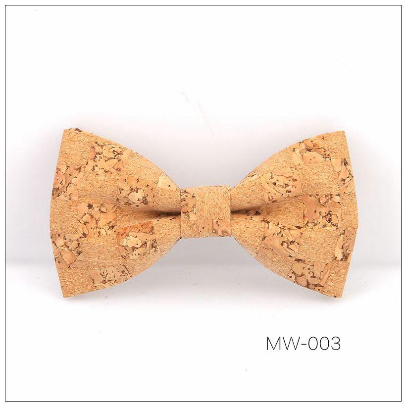 New Handmade Wooden Cork Bamboo Bow Tie Bowtie Men's Cravat 43