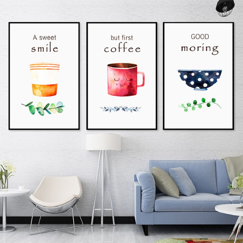 Kichen Cofe Wall Art Posters And Prints Coffee Canvas Art Paintings Nordic Dining Room Wall Pictures For Home Decoration Poster Buy At The Price Of 4 99 In Aliexpress Com Imall Com