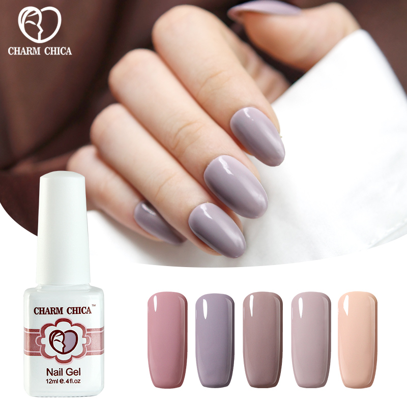 Aliexpress.com : Buy New Fashion Nude UV Nail Gel Polish