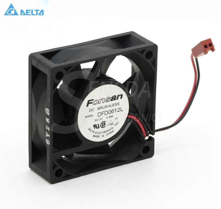 for delta Electronics AFB0612HB DC12V 0.15AServer Cooling Fan 3-wire 60x60x15mm