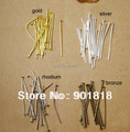 20x0.7mm (21 gauge) 200pcs/bag wholesale jewelry accessories flat head Pins  F118