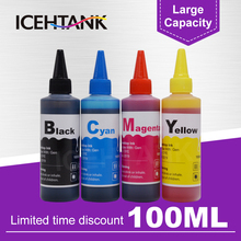 ICEHTANK 4 Color Dye Ink Refill Kit For Canon PG 540 PG-540 CL-541 XL PG540 CL541 Pixma MG2250 MG3150 MG3250 MG4150 Printer