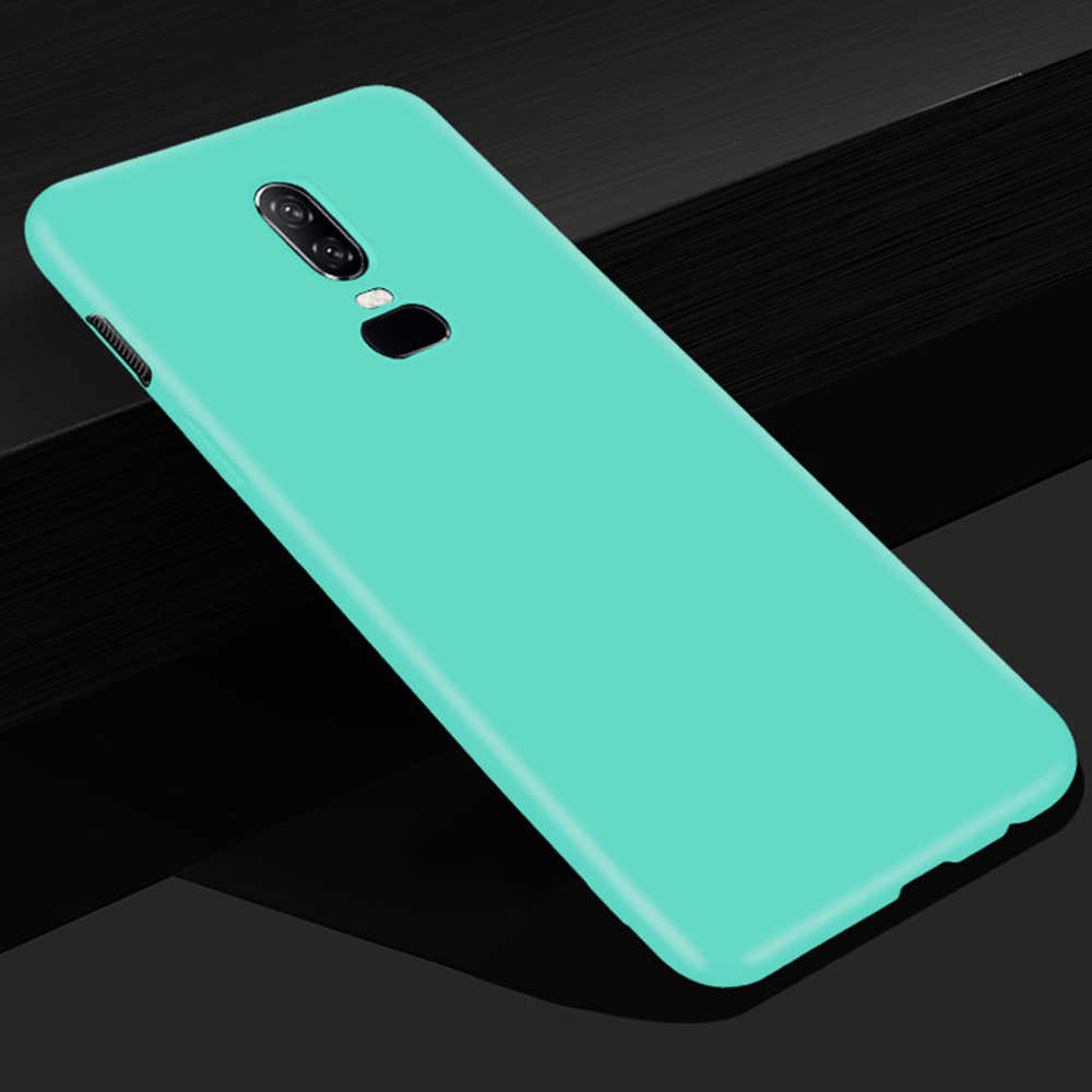Silicone Matte Cases For Oneplus 6 5T 5 T OnePlus6 One Plus 6 1+6 A60000  Soft TPU Cute Back Cover Candy Frosted Phone Case