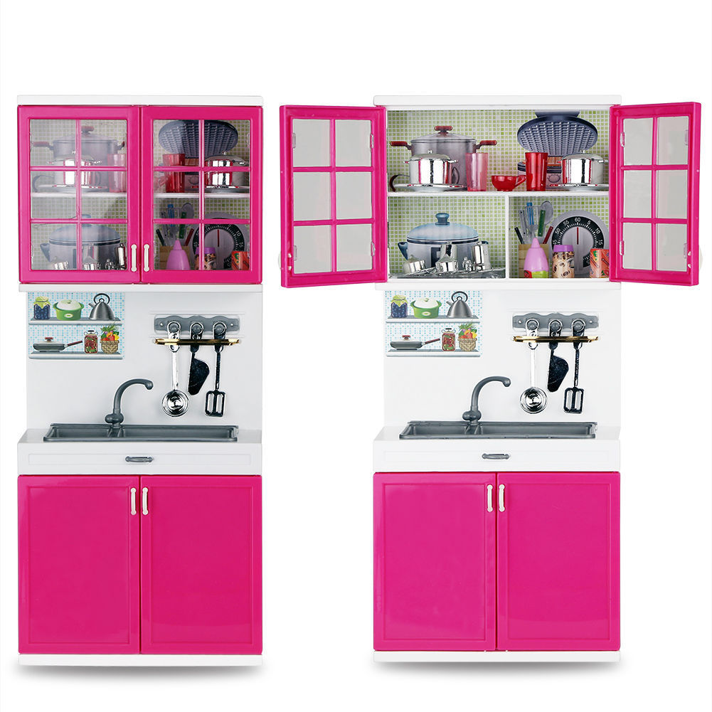 DOOLNNG Kids Large Kitchen Playset Girls&Boys Pretend Cooking Toy ...