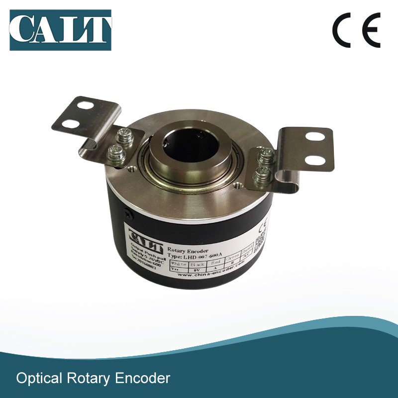 19mm Hollow shaft incremental rotary encoder Alternative to LHD 007 600A Sumtak optcoder for Komori printer