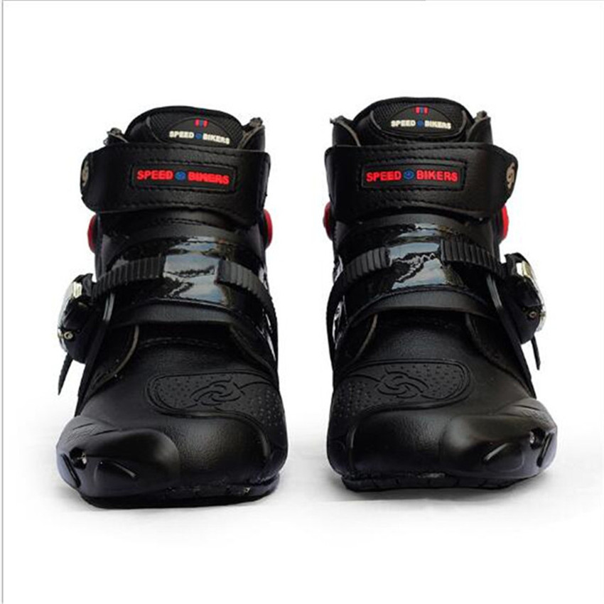 Leder Motorrad Stiefel SPEED Racing Stiefel Motocross Stiefel Drop Widerstand Wasserdicht Reiten Racing Stiefel