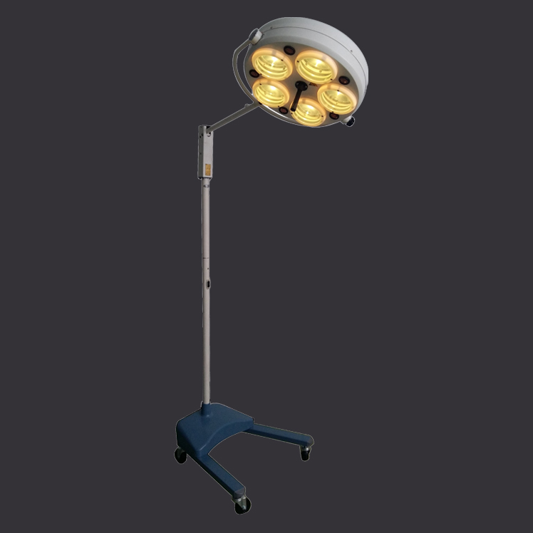 US $450 0 |Operating room vertical five hole surgical lamp shadowless  medical Professional supplies-in Floor Lamps from Lights & Lighting on