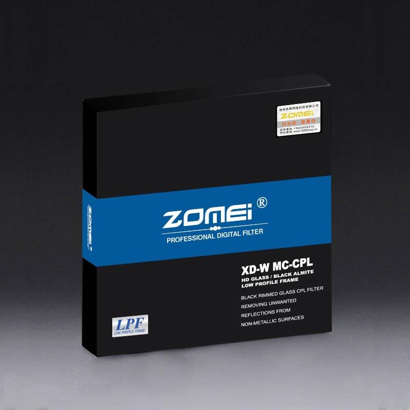 Zomei 77мм CPL поляризаційний фільтр Slim Pro - Камера та фото - фото 5