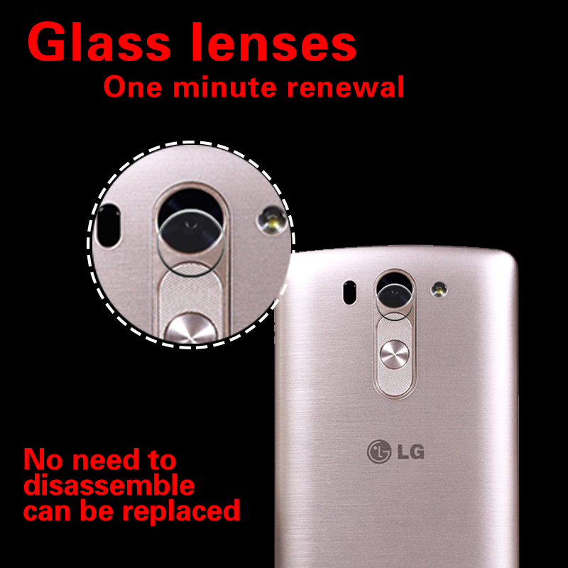 Camera Lens Protective Tempered Glass Film For LG G3mini G3 Beat Clear Anti-scratch Rear Camera Glass Film Cover Anti-Shatter