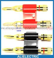 10pcs Banana Plug for Binding Post Amplifiers Cables