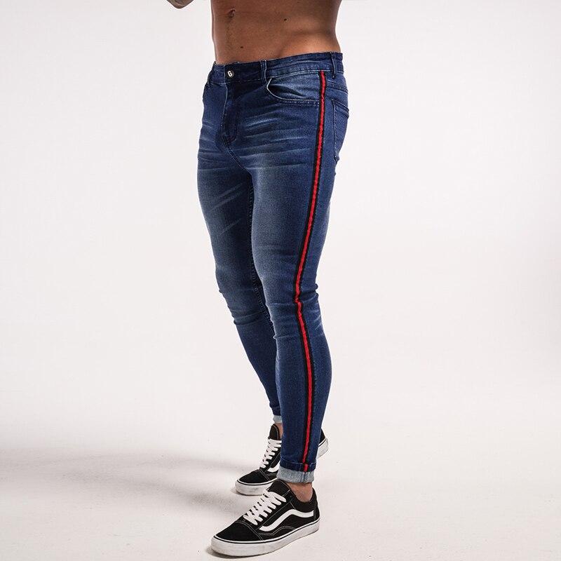 gingtto-men-skinny-jeans-dark-blue-red-stripe-stretch-jeans-zm20-6