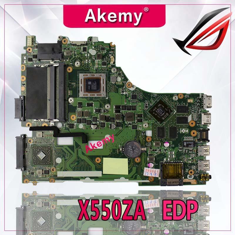 Akemy X550ZE A10 7400U Laptop motherboard for ASUS X550ZE X550Z X550 K550 VM590Z A555Z K555Z X555Z
