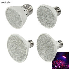 New E27 (38-138)LED 2/5/7W Plant Grow Light Bulb Garden Hydroponic Lamp цены