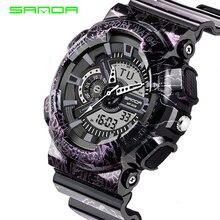 2019 Fashion Men sport Watch lightning Style military Watch Led digital Analog quartz watches clock wristwatch цена