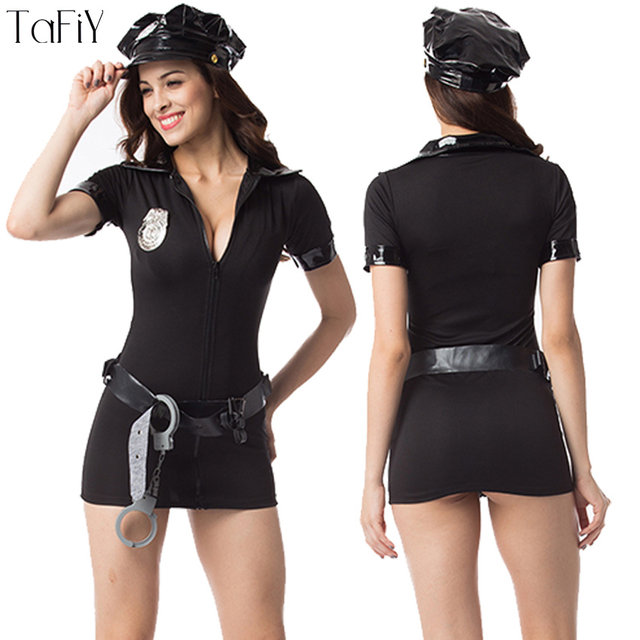 TaFiY Sexy Halloween Costumes Cop Uniform Outfits Sexy Police Officer Costume Club Game Deguisement Cosplay police Women Costume  sc 1 st  Aliexpress & Online Shop TaFiY Sexy Halloween Costumes Cop Uniform Outfits Sexy ...