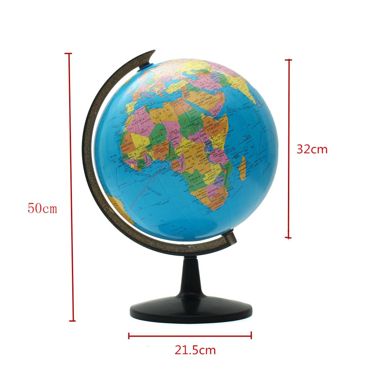 32 cm monde Globe carte enfants géograpie jouets éducatifs fournitures scolaires étudiants récompense cadeau maison bureau décorations de bureau - 5