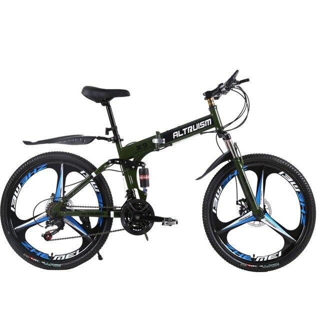 """Аltruism X9 Pro 26 """"21 скорость женская горный велосипед велоспорт дорожный велосипед двойной дисковый тормоз мужчин и Мужчин велоспорт"""