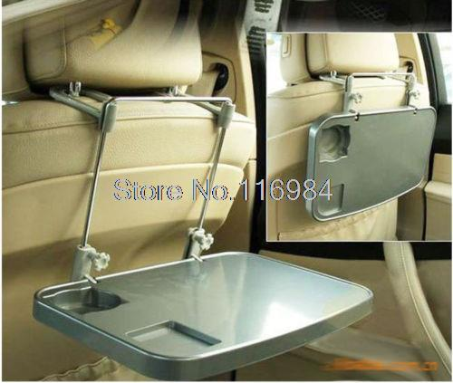 NEW Auto Gray Car Laptop Tablet PC PDA Mounts Stand Holder Desk Table Drink Food Tray