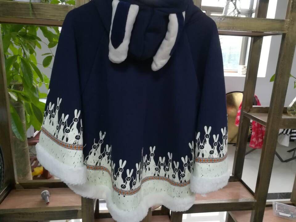 Frauen Japanischen Stil Mori Mädchen Herbst Wintermantel Niedlichen - Damenbekleidung - Foto 5