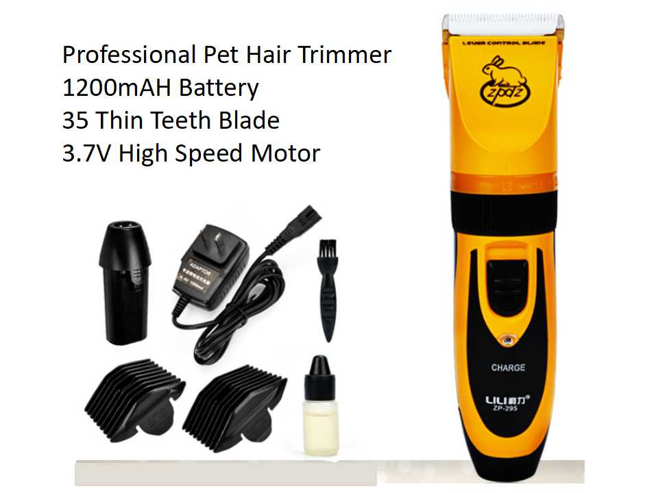 Professional Rechargeable Electric Dog Cat Hair Trimmer 230V Pet Fur Cutting Machine Styling Tools Animal Hair