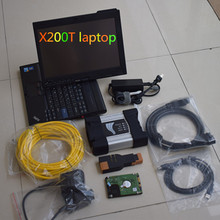Latest Top for bmw icom next with laptop X200T 4GB ram with V2017.09 Rheingold Expert mode software 500gb HDD