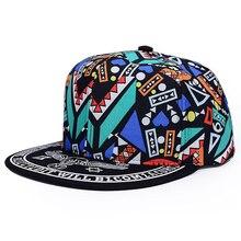 a6e13f3c55acb 15 unids lote SINGYOU personalidad Graffiti Hip Hop sombrero Unisex gorra  de béisbol del verano del sombrero del Snapback sombre.