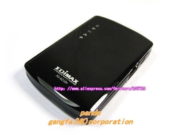 Free Shipping EDIMAX 3G-6210n Wireless 802.11n HSPA HDSL 3G Portable Router for IPAD with Rechargeable Li-ion Battery