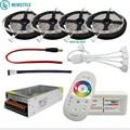 DC12V 5050 LED Strip Waterdicht RGB RGBW Led Licht Flexibele Tape + Touch Afstandsbediening + 12 V Power adapter Kit 30 M 20 M 10 M 5 M