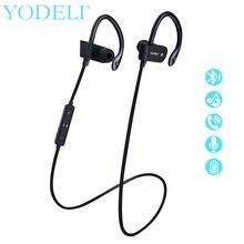 YODELI Original S4 Sports Running Bluetooth Headphones with Mic Wireless Sweatproof Earphones Bass Headsets for iPhone 7 xiaomi