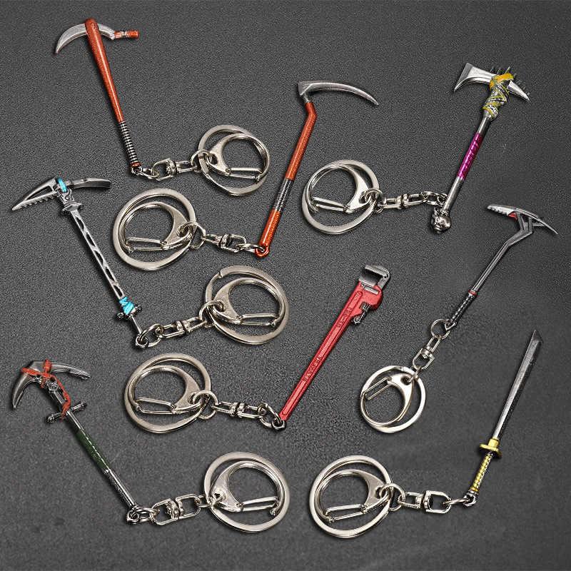 Llavero para hombre, nuevo modelo creativo de arma de Metal, herramienta de moda para mujer, Accesorios para Juego de llaves para coche, llavero para fiesta, joyería K2191
