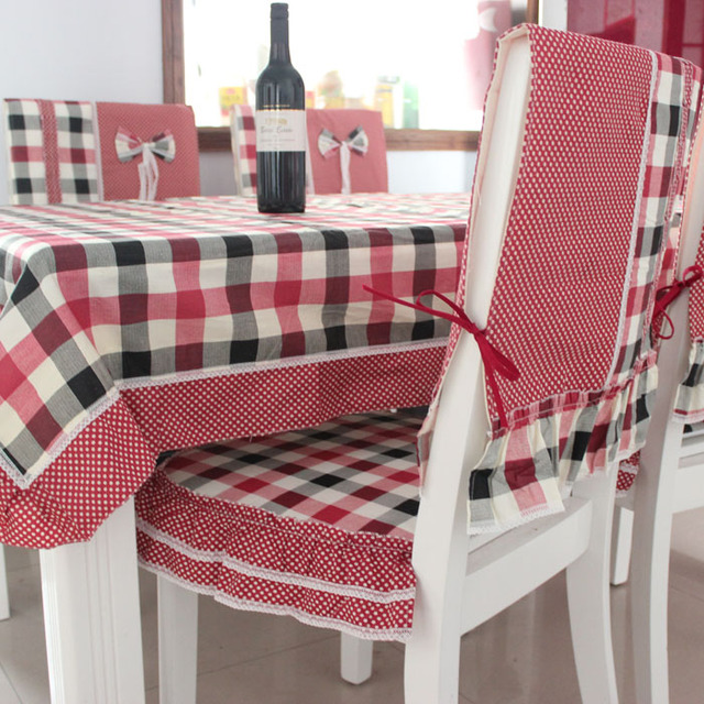 Home dining table cloth RED DRAGONFLY cloth chair cover table mat tablecloth table cloth