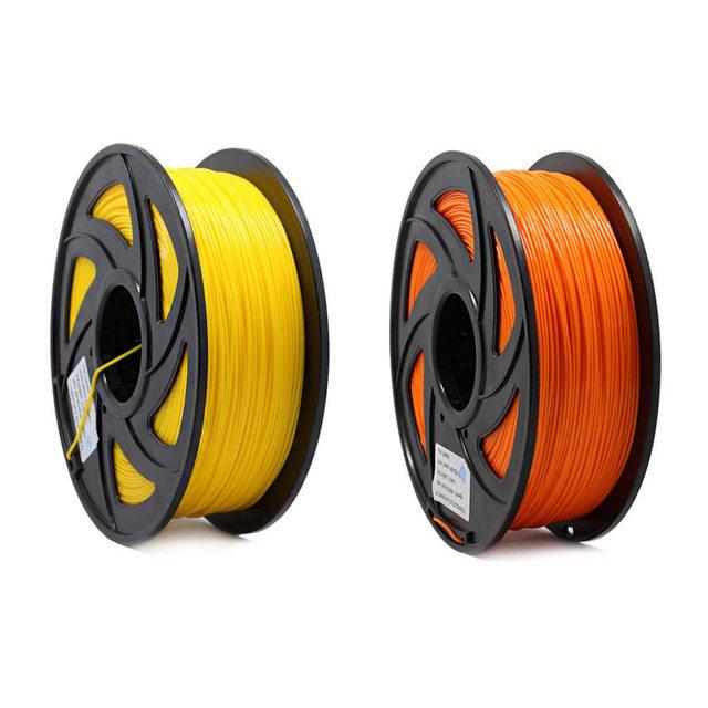 3D Printer 1KG 1.75mm PLA Filament Printing Materials Colorful For 3D Printer Extruder Pen Rainbow Plastic Accessories Red Gray