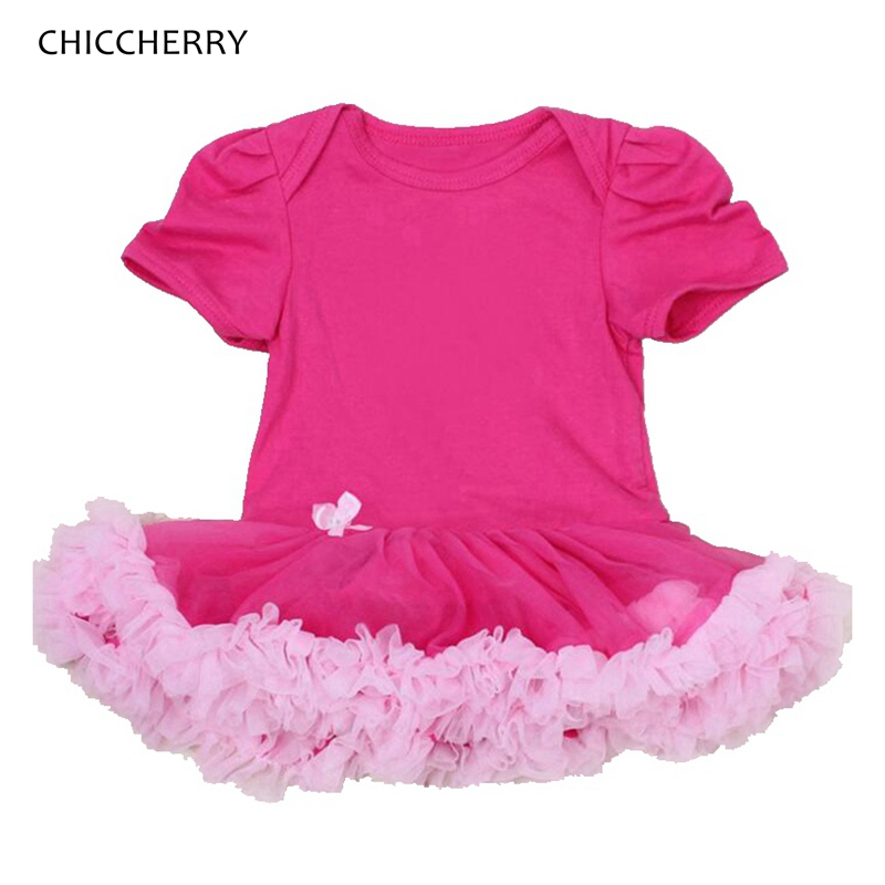 Summer Solid Color Newborn Girl Clothes Cotton Baby Lace Romper Dress DIY Infant Party Tutus Roupa De Bebe Toddler Outfits