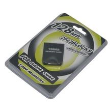10 PCS muito Prático 4 MB 8 MB 16 MB 32 M 64 M 128 MB Protetor De Armazenamento De Cartão de memória para Nintendo Game Cube GC CameCube Console