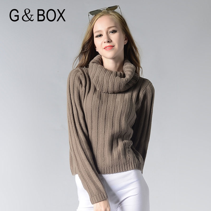 Winter Cashmere Sweater Female Pullover High Collar Turtleneck ...