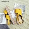 Chi Cho Fashion Grass Solo Summer Gladiator Sandals Shoes Women Platform Flats Ladies Handmade Genuine Leather