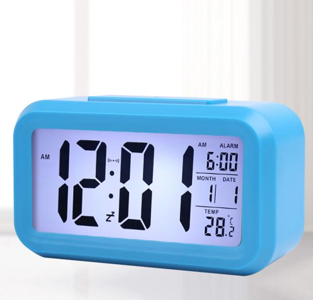 Image 3 - Student bedside smart alarm clock light control multi function square smart clock factory direct children's electronic gifts-in Personal Care Appliance Accessories from Home Appliances