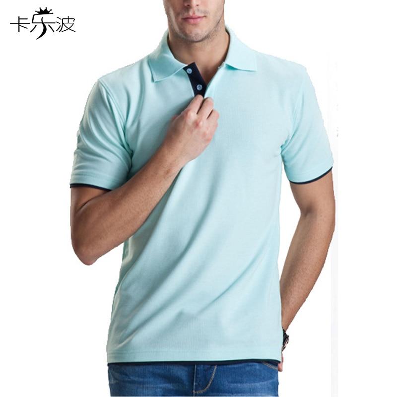 Kalebo brand clothing men polo shirt high quality cotton for Bulk mens dress shirts