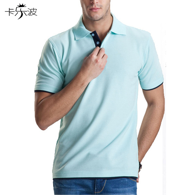 kalebo Brand clothing men POLO shirt high quality cotton lapel short sleeve can be wholesale to accept custom