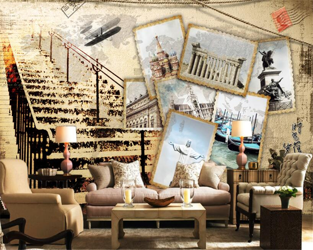 Wholesale Carving Flowing Mural 3d Wall Photo Mural For Living Room Tv Sofa Background 3d Wall Mural Fresco Papel De Parede Superior In Quality