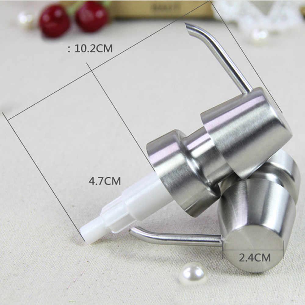 Новый насос 6 типов из нержавеющей стали мыльный насос диспенсер для жидкого лосьона Замена Jar трубка для ванной G529