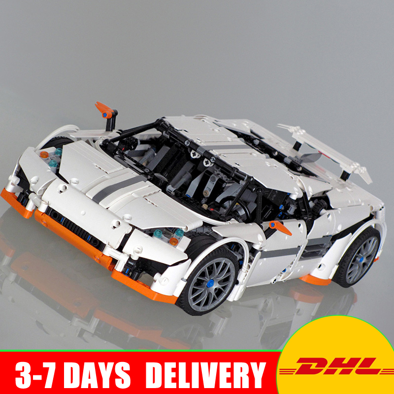 Lepin 20052 The Predator Supercar Set MOC-2811 Assemblage Technic Series DIY Building Blocks Bricks as Educational Christmas Toy lepin 16050 the old finishing store set moc series 21310 building blocks bricks educational children diy toys christmas gift