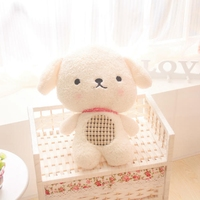2016 Hot Sale Cute Biscuits Dog Puppy Stuffed Plush Toy Doll Baby Birthday Gift Free Shipping