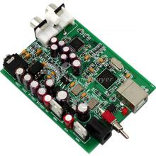 Asynchronous DC 9V DAC SU0 XMOS U8 AK4490 USB Power Supply Voltage DAC Decoding Board