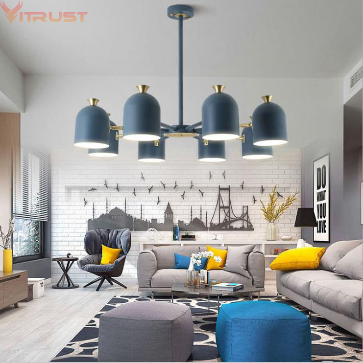 Nordic Chandelier Lamps Fixture lampara Home Lighting Luxury Creative Modern Hanging Lamp Dining Living room Bedroom Cafe Bar
